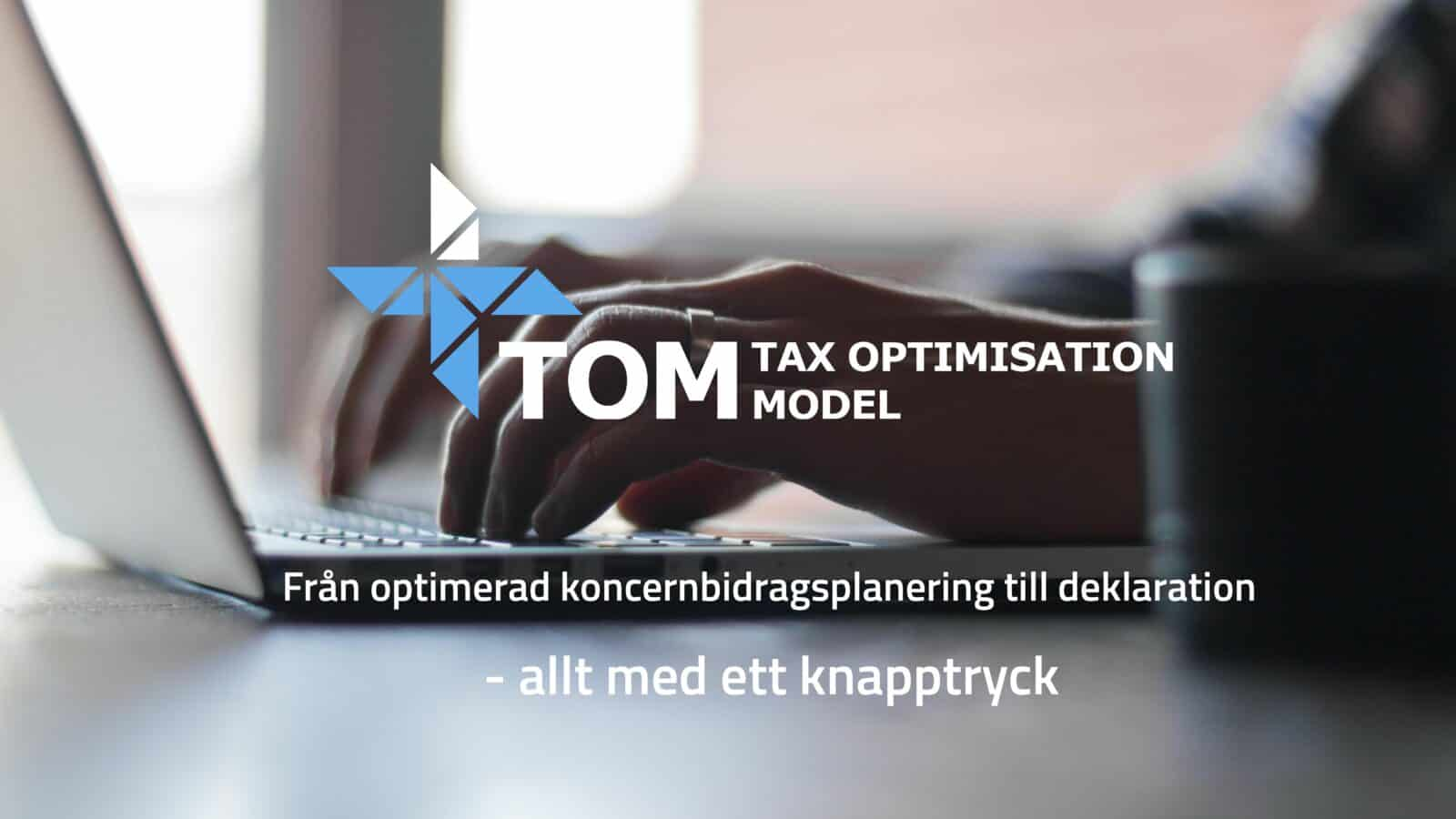 Inkomstdeklaration TOM